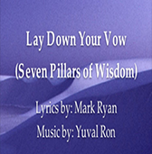 Lay Down Your Vow cd cover