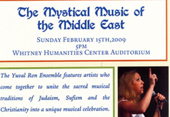 The mystical music of the middle east