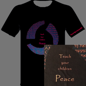 Teach Your Children Peace Shirt Picture