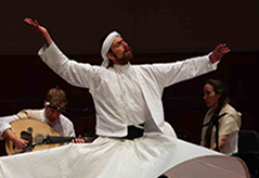 Aziz whirling dervish