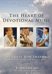 The Heart of Devotional Music dvd cover