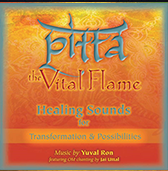 Pitta the Vital Flame cd cover