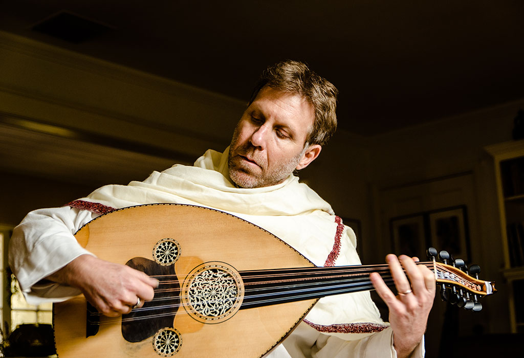 Yuval Ron playing an Oud - low rez image